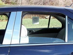 QAA - Cadillac STS 2005-2011, 4-door, Sedan (6 piece Stainless Steel Pillar Post Trim ) PP45237 QAA - Image 1