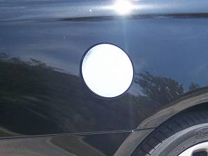 Chrome Trim - Fuel Door/Trim - QAA - Cadillac XTS 2013-2019, 4-door, Sedan (1 piece Stainless Steel Gas Door Cover Trim Warning: This is NOT a replacement cap. You MUST have existing gas door to install this piece ) GC53245 QAA