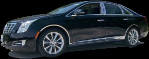 """QAA - Cadillac XTS 2013-2019, 4-door, Sedan (4 piece Stainless Steel Rocker Panel Trim, On the rocker 3.375"""" Width Installs below the door.) TH53246 QAA - Image 2"""