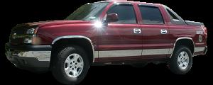 QAA - Chevrolet Avalanche 2002-2006, 4-door, Pickup Truck (2 piece Chrome Plated ABS plastic Tail Light Bezels ) TL42185 QAA - Image 2