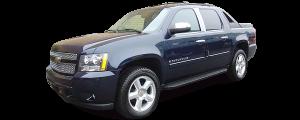 QAA - Chevrolet Avalanche 2007-2009, 4-door, Pickup Truck (2 piece Chrome Plated ABS plastic Headlight Bezel, ABS/Chrome ) HLB47195 QAA - Image 2