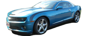 QAA - Chevrolet Camaro 2010-2015, 2-door, Coupe, Convertible (1 piece Stainless Steel Gas Door Cover Trim Warning: This is NOT a replacement cap. You MUST have existing gas door to install this piece ) GC50100 QAA - Image 2