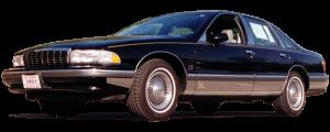 QAA - Chevrolet Caprice 1991-1997, 4-door, Sedan (6 piece Stainless Steel Pillar Post Trim Includes rear pillar trim ) PP33176 QAA - Image 2