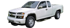 QAA - Chevrolet Colorado 2004-2012, 2-door, 4-door, Pickup Truck (2 piece Chrome Plated ABS plastic Mirror Cover Set ) MC44150 QAA - Image 3