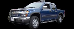 QAA - Chevrolet Colorado 2004-2012, 4-door, Pickup Truck (4 piece Stainless Steel Window Sill Trim Set ) WS44150 QAA - Image 2