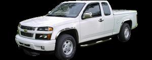 QAA - Chevrolet Colorado 2004-2012, 4-door, Pickup Truck (4 piece Stainless Steel Window Sill Trim Set ) WS44150 QAA - Image 3