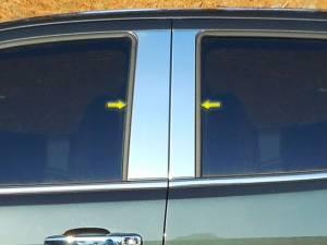 QAA - Chevrolet Colorado 2015-2020, 4-door, Pickup Truck, Crew Cab (4 piece Stainless Steel Pillar Post Trim ) PP55151 QAA - Image 1