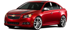 QAA - Chevrolet Cruze 2011-2015, 4-door, Sedan, LS, LT, LTZ (2 piece Chrome Plated ABS plastic Mirror Cover Set ) MC51145 QAA - Image 2