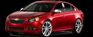 QAA - Chevrolet Cruze 2011-2015, 4-door, Sedan (4 piece Stainless Steel Pillar Post Trim ) PP51145 QAA - Image 2