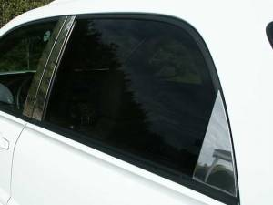 QAA - Chevrolet Equinox 2005-2009, 4-door, SUV (6 piece Stainless Steel Pillar Post Trim ) PP45161 QAA - Image 1