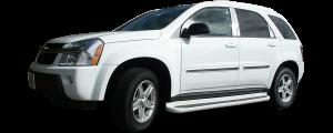 QAA - Chevrolet Equinox 2005-2009, 4-door, SUV (6 piece Stainless Steel Pillar Post Trim ) PP45161 QAA - Image 2