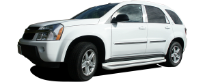 QAA - Chevrolet Equinox 2005-2009, 4-door, SUV (8 piece Stainless Steel Pillar Post Trim ) PP45162 QAA - Image 2