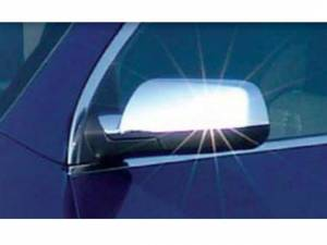 QAA - Chevrolet Equinox 2010-2017, 4-door, SUV, LS, LT (2 piece Chrome Plated ABS plastic Mirror Cover Set Top Half Only ) MC50160 QAA - Image 1