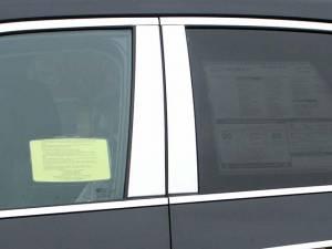 QAA - Chevrolet Equinox 2010-2017, 4-door, SUV (4 piece Stainless Steel Pillar Post Trim ) PP50160 QAA - Image 1