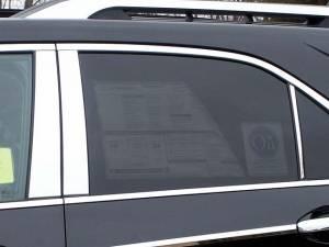 QAA - Chevrolet Equinox 2010-2017, 4-door, SUV (6 piece Stainless Steel Pillar Post Trim ) PP50161 QAA - Image 1