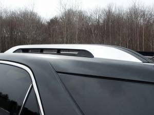 Chrome Trim - Roof Accents - QAA - Chevrolet Equinox 2010-2017, 4-door, SUV (2 piece Stainless Steel Roof Rack Trim Note: USE ADHESIVE PRIMER.This item adheres to the existing factory Roof Rack.You must have the factory Roof Rack to use this item.) RR50160 QAA