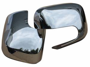 QAA - Chevrolet HHR 2006-2011, 4-door, Wagon (2 piece Chrome Plated ABS plastic Mirror Cover Set ) MC46140 QAA - Image 1