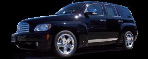 "QAA - Chevrolet HHR 2006-2011, 4-door, Wagon (1 piece Stainless Steel Rear Deck Trim, Trunk Lid Accent 3.188"" Width ) RD46140 QAA - Image 2"
