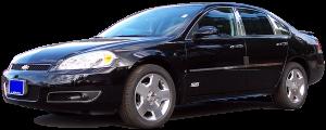 QAA - Chevrolet Impala 2006-2013, 4-door, Sedan (4 piece Stainless Steel Pillar Post Trim ) PP46135 QAA - Image 2