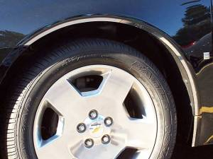 QAA - Chevrolet Impala - Limited 2014-2016, 4-door, Sedan, Limited (8 piece Stainless Steel Wheel Well Accent Trim With 3M adhesive installation and black rubber gasket edging.) WQ46135 QAA - Image 1