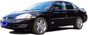 QAA - Chevrolet Impala - Limited 2014-2016, 4-door, Sedan, Limited (8 piece Stainless Steel Wheel Well Accent Trim With 3M adhesive installation and black rubber gasket edging.) WQ46135 QAA - Image 2