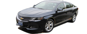 QAA - Chevrolet Impala 2014-2020, 4-door, Sedan, Does NOT fit the Limited (2 piece Stainless Steel Head Light Accent Trim ) HL54135 QAA - Image 3