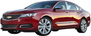 QAA - Chevrolet Impala 2014-2020, 4-door, Sedan, Does NOT fit the Limited (2 piece Stainless Steel Head Light Accent Trim ) HL54135 QAA - Image 4