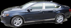 QAA - Chevrolet Impala 2014-2020, 4-door, Sedan, Does NOT fit the Limited (2 piece Chrome Plated ABS plastic Mirror Cover Set ) MC54136 QAA - Image 2
