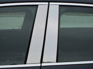 QAA - Chevrolet Impala 2014-2020, 4-door, Sedan, Does NOT fit the Limited (4 piece Stainless Steel Pillar Post Trim ) PP54135 QAA - Image 1
