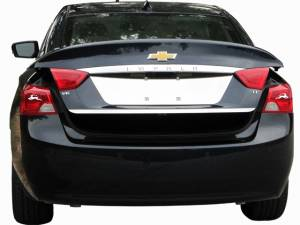 "Chrome Trim - Trunk Lid Accents - QAA - Chevrolet Impala 2014-2020, 4-door, Sedan, Does NOT fit the Limited (1 piece Stainless Steel Rear Deck Trim, Trunk Lid Accent 0.875"" Width ) RD54135 QAA"