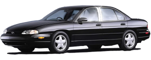 "QAA - Chevrolet Lumina 1990-1994, 2-door, Coupe (6 piece Stainless Steel Rocker Panel Trim, Upper Kit 5.5"" Width, Includes coverage between the wheel wells only Spans from the bottom of the molding DOWN to the specified width.) TH19171 QAA - Image 2"