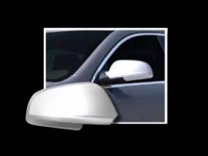 QAA - Chevrolet Malibu 2008-2012, 4-door, Sedan (2 piece Chrome Plated ABS plastic Mirror Cover Set ) MC48105 QAA - Image 1