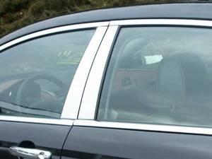 QAA - Chevrolet Malibu 2008-2012, 4-door, Sedan (4 piece Stainless Steel Pillar Post Trim ) PP48105 QAA - Image 1