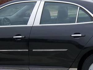 QAA - Chevrolet Malibu 2013-2015, 4-door, Sedan (4 piece Stainless Steel Door Handle Accent Trim ) DH53105 QAA - Image 1