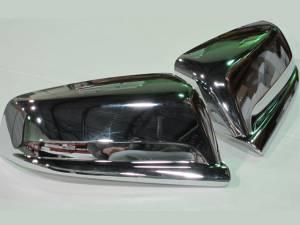 QAA - Chevrolet Malibu 2013-2015, 4-door, Sedan (2 piece Chrome Plated ABS plastic Mirror Cover Set ) MC53105 QAA - Image 1