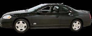 QAA - Chevrolet Monte Carlo 2000-2007, 2-door, Coupe (2 piece Stainless Steel Pillar Post Trim ) PP40175 QAA - Image 2