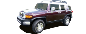 QAA - Toyota FJ Cruiser 2007-2010, 4-door, SUV (1 piece Stainless Steel Front Grille Accent Trim Upper Hood ) SG27142 QAA - Image 2