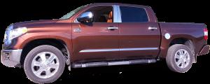 QAA - Toyota Tundra 2007-2009, 2-door, 4-door, Pickup Truck (1 piece Stainless Steel Front Grille Accent Trim Upper Insert ) SG27145 QAA - Image 3