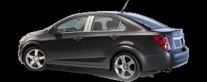 QAA - Chevrolet Sonic 2012-2020, 4-door, Sedan (6 piece Stainless Steel Pillar Post Trim ) PP53121 QAA - Image 2