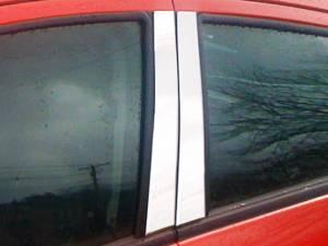 QAA - Chevrolet Spark 2013-2015, 4-door, Subcompact Car (4 piece Stainless Steel Pillar Post Trim ) PP53110 QAA - Image 1