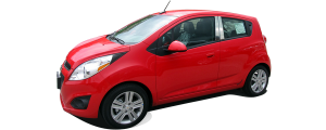 QAA - Chevrolet Spark 2013-2015, 4-door, Subcompact Car (4 piece Stainless Steel Pillar Post Trim ) PP53110 QAA - Image 2