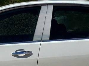 QAA - Chevrolet SS 2014-2018, 4-door, Sedan (4 piece Stainless Steel Pillar Post Trim ) PP54150 QAA - Image 1