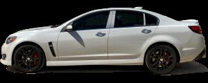 QAA - Chevrolet SS 2014-2018, 4-door, Sedan (4 piece Stainless Steel Pillar Post Trim ) PP54150 QAA - Image 2