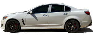 QAA - Chevrolet SS 2014-2018, 4-door, Sedan (6 piece Stainless Steel Pillar Post Trim ) PP54151 QAA - Image 2