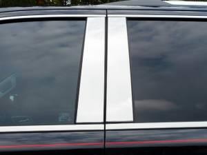 QAA - Chevrolet Suburban 2015-2020, 4-door, SUV (4 piece Stainless Steel Pillar Post Trim ) PP55195 QAA - Image 1