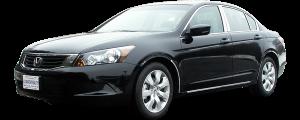 QAA - Honda Accord 2008-2010, 4-door, Sedan (2 piece Stainless Steel Front Grille Accent Trim ) SG28281 QAA - Image 2