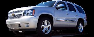 QAA - Chevrolet Tahoe 2007-2014, 4-door, SUV (1 piece Stainless Steel License Bar, Above plate accent Trim ) LB47295 QAA - Image 2
