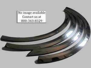 Chevrolet Tahoe 2007-2014, 4-door, SUV (6 piece Molded Stainless Steel Wheel Well Fender Trim Molding Clip on or screw in installation, Lock Tab and screws, hardware included.) WZ47195 QAA