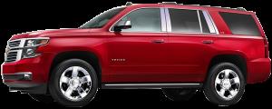 QAA - Chevrolet Tahoe 2015-2020, 4-door, SUV (6 piece Stainless Steel Pillar Post Trim ) PP55196 QAA - Image 2