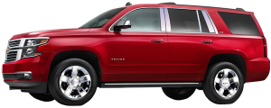 QAA - Chevrolet Tahoe 2015-2020, 4-door, SUV (8 piece Stainless Steel Pillar Post Trim ) PP55197 QAA - Image 2